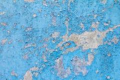 Alte blaue Farben-Hintergrund-Beschaffenheit Lizenzfreie Stockfotos