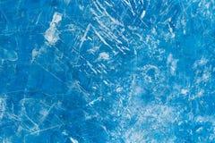 Alte blaue Farbhölzerne Wand gemasert Stockfoto
