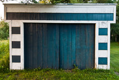 Garage in der Natur Stockbilder