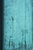 Alte blaue hölzerne Farbenbeschaffenheit Lizenzfreies Stockbild