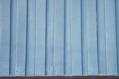 Alte blaue hölzerne Plankenbeschaffenheit Stockfoto