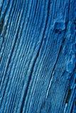Alte blaue hölzernes Brett-Hintergrund-Beschaffenheit Lizenzfreie Stockbilder