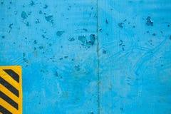 Alte blaue Metallbeschaffenheit Lizenzfreie Stockfotos