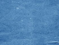 Alte blaue Pappoberfläche Stockbilder
