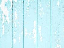 Alte blaue Planken Stockfotos