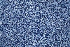 Alte blaue Tuchoberfläche Stockfotografie