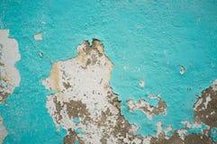 Alte blaue Wand Lizenzfreie Stockfotos