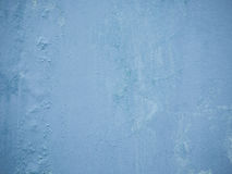 Alte blaue Wand Stockfoto