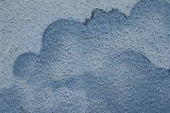 Alte blaue Wand Stockfotos