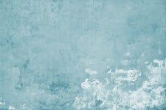 Alte blaue Wandschmutzbeschaffenheit der Betondecke Stockbilder