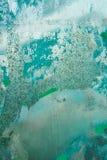 Alte Blechtafel Stockbild