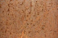 Alte Blechtafel des Eisens mit Rost Zusammenfassungshintergrund Stockfoto