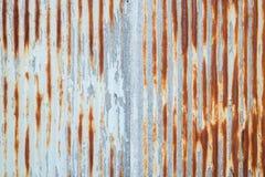 Alte Blechtafeldachbeschaffenheit Muster der alten Blechtafel Blechtafelbeschaffenheit Lizenzfreie Stockbilder