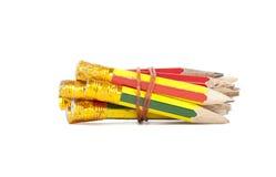Alte Bleistifte Stockfotos