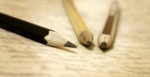 Alte Bleistiftfahne Lizenzfreie Stockfotografie