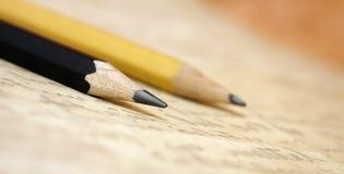 Alte Bleistiftfahne Stockfoto