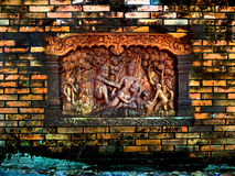 Alte blick Wand fressen alle Oberfläche ab Stockbild