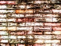 Alte blick Wandhintergrund-Brandoberfläche Stockbilder