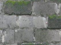 Alte Block-Wand-Hintergrund-Beschaffenheit Lizenzfreies Stockbild