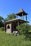 Alte Blockhauskapelle Lizenzfreies Stockbild