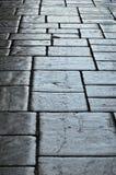 Alte Blockplasterung von Granada Stockbild