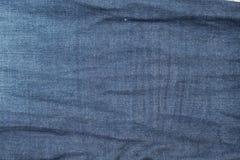 Alte Blue Jeans-Beschaffenheit des Denims Lizenzfreie Stockfotografie