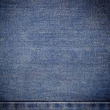 Alte Blue Jeans Hintergrund und Beschaffenheit Lizenzfreies Stockfoto