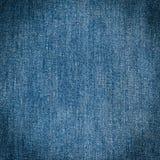 Alte Blue Jeans Hintergrund und Beschaffenheit Stockfotografie
