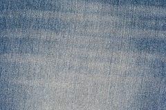 Alte Blue Jeans kopiert Hintergrund Stockfoto