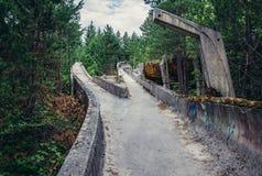 Alte Bobbahn in Sarajevo Stockfotos