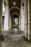 Alte Bogen. Palast von Aranjuez, Madrid, Spanien Stockfoto