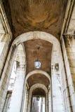 Alte Bogen. Palast von Aranjuez, Madrid, Spanien Lizenzfreies Stockfoto