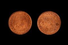 Alte bolivianische Münze Lizenzfreies Stockfoto