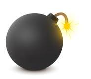 Alte Bombe Lizenzfreie Stockbilder