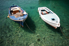 Alte Boote Lizenzfreies Stockbild