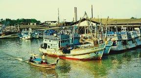 Alte Boote stockfotos