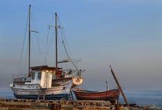 Alte Boote Lizenzfreie Stockbilder