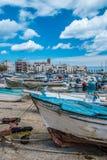 Alte Boote, südlich von Italien Stockfotos