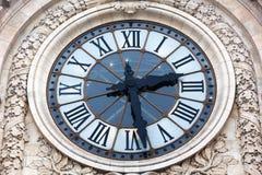 Alte Borduhr des Orsay Museums Stockfotografie
