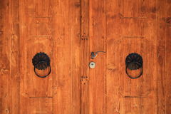 Alte bosnische Tür in Pocitelj Stockbild
