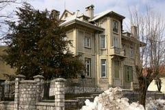 Alte Botschaft in Cetinje Lizenzfreie Stockfotos