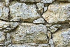 Alte Boulder-Wand Stockbilder