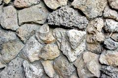 Alte Boulder-Wand Lizenzfreie Stockfotos