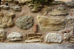 Alte Boulder-Wand Lizenzfreie Stockfotografie