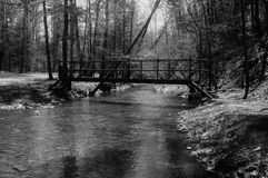 Alte Brücke Stockbild