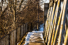 Alte Brücke Lizenzfreie Stockfotografie