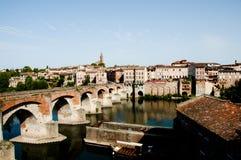 Alte Brücke - Albi - Frankreich stockbild