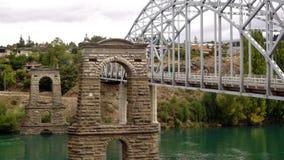 Alte Brücke Alexandra stockbild