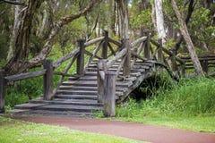 Alte Brücke in Australien Stockbild