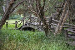 Alte Brücke in Australien Stockfotografie